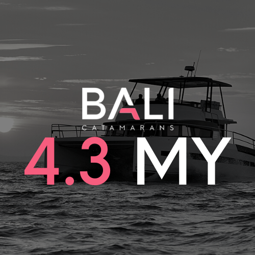 BALI 4.3 MOTOR yacht Catamaran