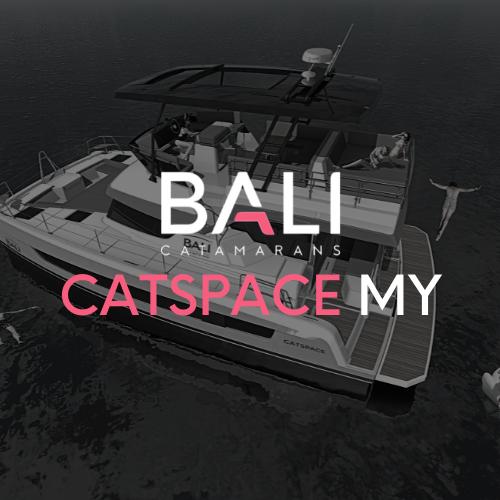 BALI Catspace MOTOR yacht Catamaran